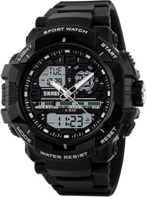 SKMEI Gmarks 1164  Black Sports Analog Digital Watch   For Men SKMEI Wrist Watches