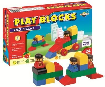 Virgo Toys Play Blocks Play set 1 Multicolor Virgo Toys Blocks   Building Sets