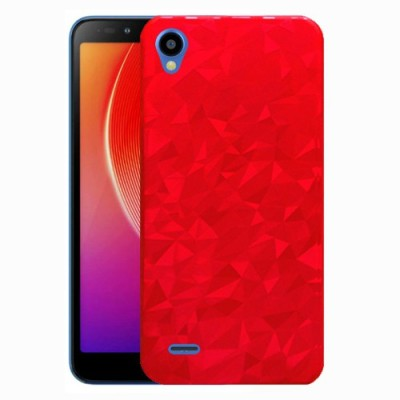 Hoverkraft Flip Cover for Infinix Smart 2(Red, Dual Protection)