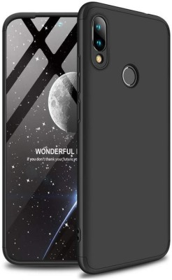 Unirock Front & Back Case for Redmi Note 7 Pro (Nebula Red, 64 GB) (4 GB RAM)([3 in 1] 360 Degrees Full Body Protection,[Anti-Scratch] [Shockproof] (♥Black♥), Dual Protection)