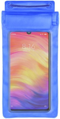 ACM Pouch for Xiaomi Redmi Note 7 Pro(Blue, Waterproof, Silicon)