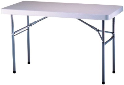 Urbancart Metal Outdoor Table(Finish Color - White, Pre-assembled)