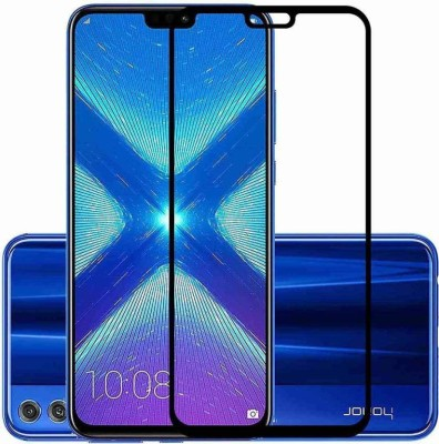 EASYBIZZ Edge To Edge Tempered Glass for Honor 8X(Pack of 1)