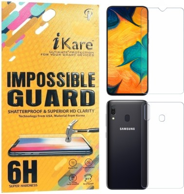 iKare Front and Back Screen Guard for Samsung Galaxy A30