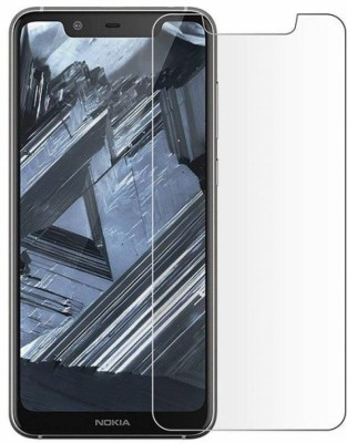 PR SMART Front and Back Tempered Glass for Nokia 8.1(Pack of 1)