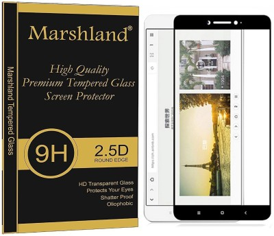 SpyCom Tempered Glass Guard for MI Max 2(full body cover Glass)(Pack of 1)