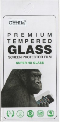 BLACK GORILLA Tempered Glass Guard for Lava Iris X8(Pack of 1)