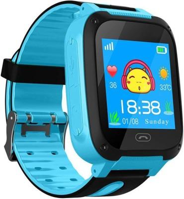 SeTracker Smart GPS Tracker Watch for Kids Smartwatch(Blue Strap M)