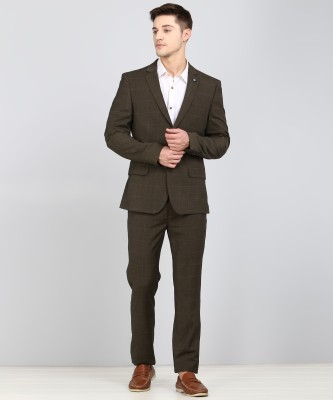 Arrow New York Two piece suit Checkered Men Suit at flipkart