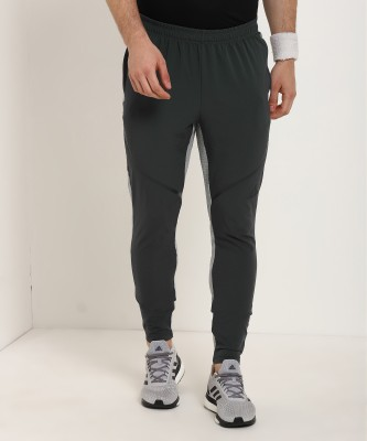 ADIDAS Solid Men Grey Track Pants at flipkart