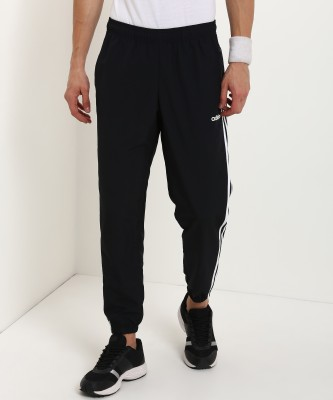ADIDAS Solid Men Black Track Pants
