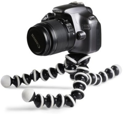 ROAR OLI_711B_Gorilla Tripod smart phones compatiable Portable tripod with bluetooth remote||360 degree tripod|| Foldable triopod|| Camera stand|| Mobile Tripod|| Camcorder tripod|| Camera mount|| Extendable tripod||Three-Dimensional Head & Quick Release Plate|| Compatible with android & IOS smart p 1
