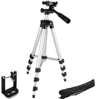 ROAR RQZ_669A_3110 Tripod smart phones compatiable Portable tripod with bluetooth remote||360 degree tripod|| Foldable triopod|| Camera stand|| Mobile Tripod|| Camcorder tripod|| Camera mount|| Extendable tripod||Three-Dimensional Head & Quick Release Plate|| Compatible with android & IOS smart phon 1