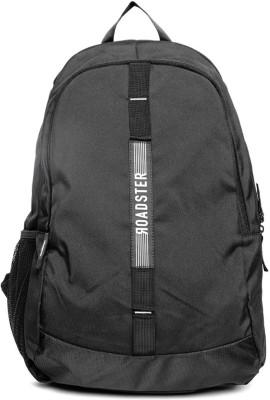 Roadster Crew Backpack 30 L Backpack Black Roadster Backpacks
