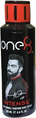 one 8 Intense (Pack of 1) Perfume Body Spray - For Men & Women(200 ml)