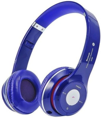 Cospex Stereo Bluetooth Headphone Foldable With TF SD Card,Fm Bluetooth Headset(Multicolor, On the Ear)