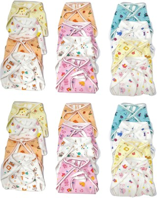 Chirsh New Born Baby Washable And Reusable Hosiery Cotton Nappies/ Cloth Diapers  Pack Of 24   0 6 Months  Chirsh Nappy