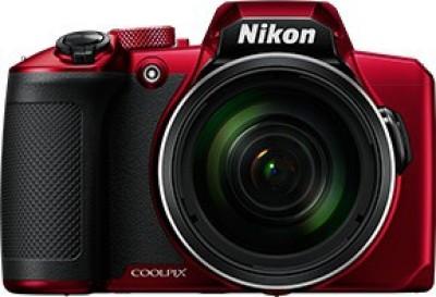 Nikon COOLPIX B600(16 MP, 60x Optical Zoom, 4x Digital Zoom, Red, Black)