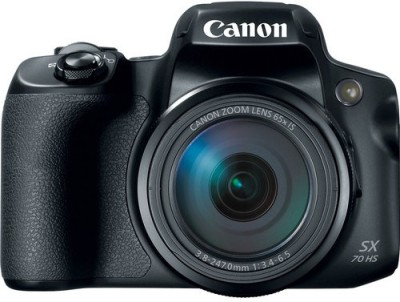 Canon PowerShot SX70 HS(20.3 MP, 65x Optical Zoom, 4x Digital Zoom, Black)
