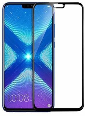SAGA Edge To Edge Tempered Glass for Temperd Glass 6d - Premium Full Glue HONOR 8x Temperd Glass Full Edge - Edge Screen Protection For HONOR 8x-Black (pack of 1)(Pack of 1)