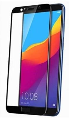 SAGA Edge To Edge Tempered Glass for Temperd Glass 6d - Premium Full Glue HONOR 7S Temperd Glass Full Edge - Edge Screen Protection For HONOR 7S-Black (pack of 1)(Pack of 1)