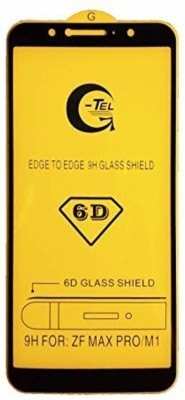 SAGA Edge To Edge Tempered Glass for SAGA ASUS ZENFONE MAX PRO M1Temperd Glass 6d - Premium Full Glue ASUS ZENFONE MAX PRO M1 Temperd Glass Full Edge - Edge Screen Protection For ASUS ZENFONE MAX PRO M1-Black (pack of 1)(Pack of 1)