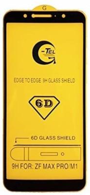 SAGA Edge To Edge Tempered Glass for SAGA ASUS ZENFONE MAX PRO M1Temperd Glass 6d - Premium Full Glue ASUS ZENFONE MAX PRO M1 Temperd Glass Full Edge - Edge Screen Protection For ASUS ZENFONE MAX PRO M1-Black (pack of 1)(Pack of 1)