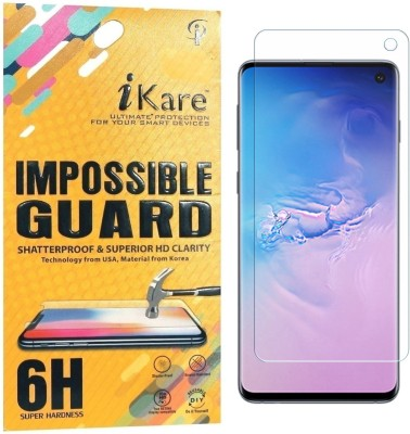 iKare Impossible Screen Guard for Samsung Galaxy S10(Pack of 1)