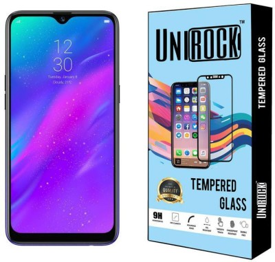 Unirock Tempered Glass Guard for Realme 3 (Dynamic Black, 64 GB) (4 GB RAM)(Pack of 3)