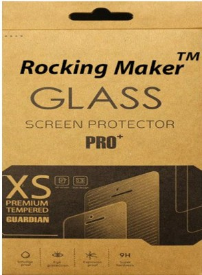 Rocking Maker Tempered Glass Guard for Samsung Galaxy Core i8260(Pack of 1)
