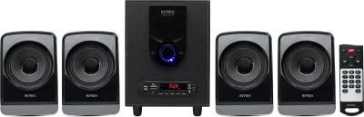 Intex 2622 Portable Bluetooth Home Theatre(Black, 4.1 Channel)