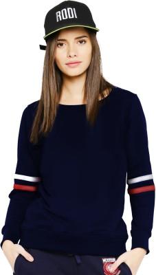 Young Trendz Full Sleeve Solid Women's Sweatshirt