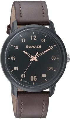 SONATA NN77085PL02W Volt+ Analog Watch - For Men