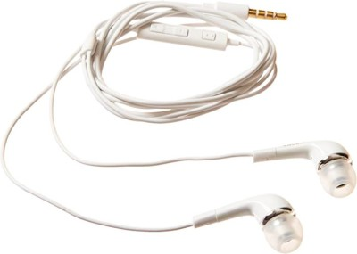 YODNSO Best quality YR Earphone for Sam.su.ng Gala-xy A51,M30s,S10 lite Wired Headset(White, Wired in the ear)