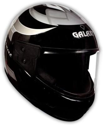 GALAXY Great ( isi approved ) Motorbike Helmet(Black)