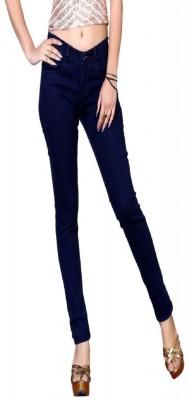 Laughing girl Slim Women Dark Blue Jeans