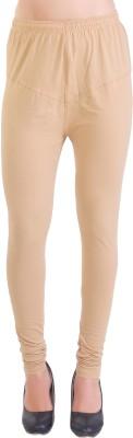 Ziva Fashion Churidar  Legging(Dark Blue, Solid)