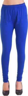 Ziva Fashion Churidar  Legging(Beige, Solid)