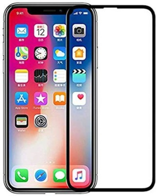 YaeBuy Edge To Edge Tempered Glass for Apple iPhone XS, Apple Iphone X Screen protector(Pack of 1)