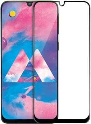 EASYBIZZ Edge To Edge Tempered Glass for Samsung A50(Pack of 1)