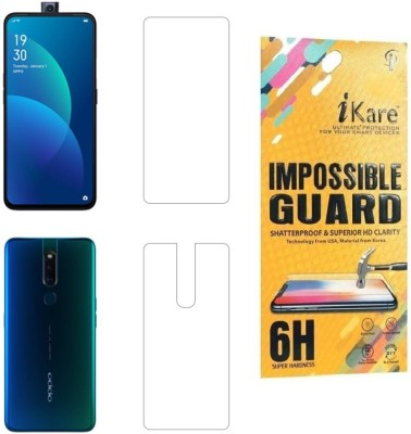 iKare Front and Back Screen Guard for Oppo F11 Pro(Pack of 1)