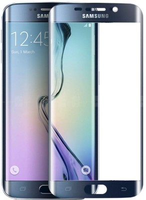 HIE POWER Edge To Edge Tempered Glass for Samsung Galaxy S6 (Premium 5D 9H Full Glue)(Pack of 1)