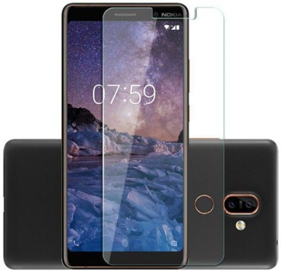 SAMARA Tempered Glass Guard for Nokia 7 Plus(Pack of 1)