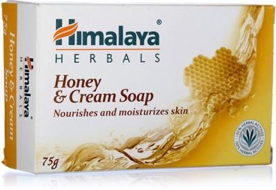 Himalaya Since 1930 Honey & Cream Nourishes & Moisturizes Skin Soap 75g(75 g)