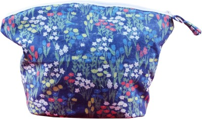 HVE Cosmetic Pouch Blue HVE Travel Pouches