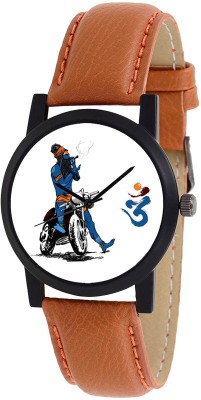 Nubela Mahadev Bhakt Special Edition New Brown Color S1 Analog Watch  - For Men