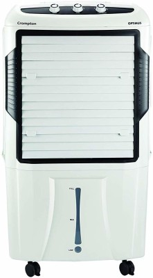 Crompton 65 L Desert Air Cooler(White, ACGC-OPTIMUS65)