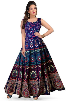 Trendy Fab Women Maxi Multicolor Dress