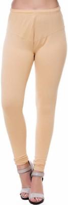 OSM Churidar  Legging(Beige, Solid)