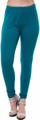OSM Churidar  Legging(Light Blue, Solid)